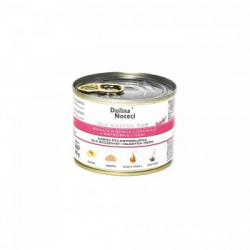 Hrana umeda pentru caini Dolina Noteci Mini Junior cu gasca si curcan 185 g