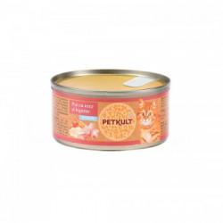 Hrana umeda pentru pisici Petkult Kitten cu pui 80 gr