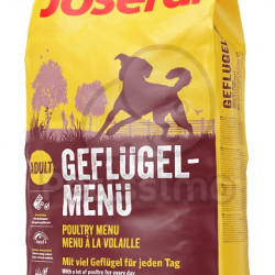 Hrana uscata pentru caini , meniu pasari de curte Josera Adult