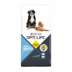 Hrana uscata pentru caini OPTI LIFE LIGHT MED&MAX 12.5 KG