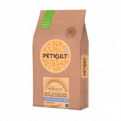 Hrana uscata pentru caini Petkult Probiotics Starter Junior cu rata si orez 8 kg