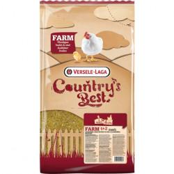 Furaj brizurat pentru pui Farm 2 Pro Growth, 20 kg