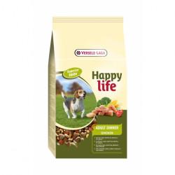 Hrana uscata pentru caini HAPPY LIFE CHICKEN DINNER 15 KG
