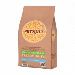 Hrana uscata pentru caini Petkult Sensitive Starter cu miel si orez 2 kg