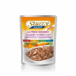 Hrana umeda pentru caini Stuzzy cu peste oceanic 100 g