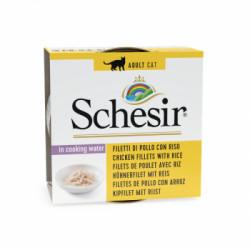 Hrana umeda pentru pisici Schesir cu Ton si Surimi 85gr
