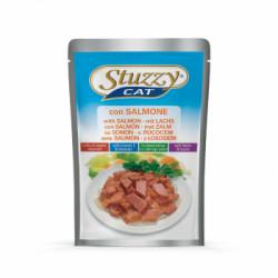 Hrana umeda pentru pisici Stuzzy cu somon 100 g