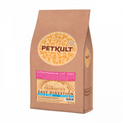 Hrana uscata pentru pisici Petkult Probiotics Hair and Skin 2 kg