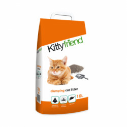 Nisip aglomerant pentru litiera Sanicat Kittyfriend 10 L