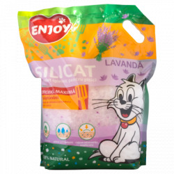 Astenut igienic pentru litiera cu lavanda Enjoy 7.6 L