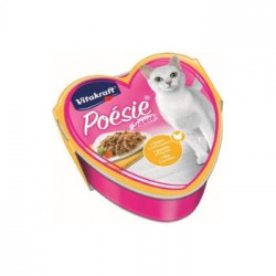 Hrana completa pentru pisici Vitakraft Poesie cu Pui si Legume 85 g