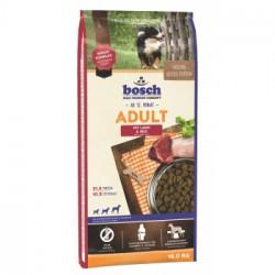 Hrana uscata pentru caini Bosch Adult cu miel si orez 15 kg