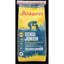 Hrana uscata pentru caini Josera Sensi Junior cu rata si somon