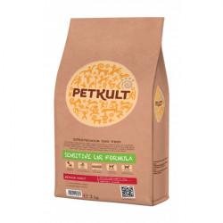 Hrana uscata pentru caini Petkult Sensitive Medium Adult cu miel si orez 2 kg