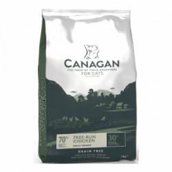 Hrana uscata pentru pisici Canagan cu pui 375 g