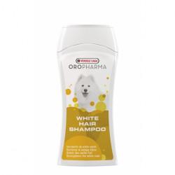 Sampon Versele Laga pentru caini cu blana alba, Oropharma Shampoo White Hair, Versele Laga, 250 ml