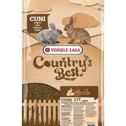 Furaj pentru iepuri ,cu coccidiostatic, Cuni Fit Plus, 20 kg