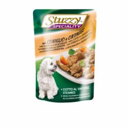 Hrana umeda pentru caini Stuzzy Adult cu iepure si legume 100 g