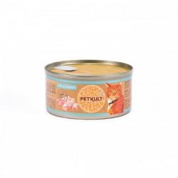 Hrana umeda pentru pisici Petkult cu pui si iepure 80 gr
