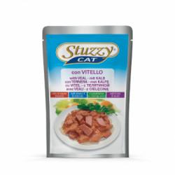 Hrana umeda pentru pisici Stuzzy cu vitel 100 g