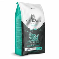 Hrana uscata pentru pisici Canagan Dental cu curcan 375g