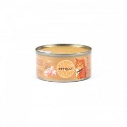 Hrana umeda pentru pisici Petkult cu pui 80 gr