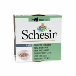 Hrana umeda pentru pisici Schesir Ton si Alge 85gr