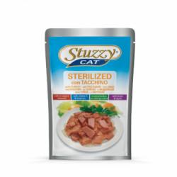 Hrana umeda pentru pisici Stuzzy Sterilized cu curcan 100 g