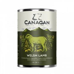 Hrana umeda pentru caini Canagan Grain Free cu miel si peste alb 400 g