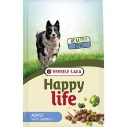 Hrana uscata pentru caini Happy Life Adult somon si broccoli