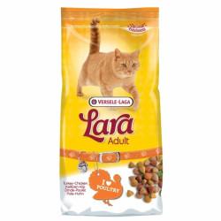 Hrana uscata pisici cu pui si curcan Lara Adult