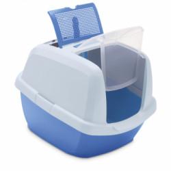 Litiera pentru pisici Maddy Junior Blue 60.5x41x45.5cm
