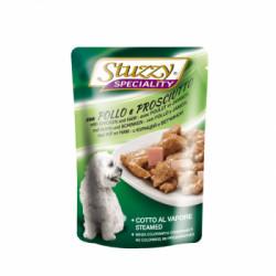 Hrana umeda pentru caini Stuzzy Adult cu pui si sunca 100 g