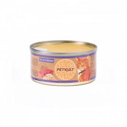 Hrana umeda pentru pisici Petkult Cat Ton cu Calamar 80 gr