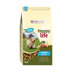 Hrana uscata caini tineri Happy Life Junior