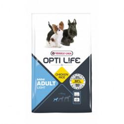 Hrana uscata pentru caini OPTI LIFE ADULT LIGHT MINI 7.5 KG
