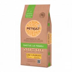 Hrana uscata pentru caini Petkult Sensitive Low Calories 12 kg