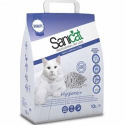 Nisip pentru litiera SANICAT HYGIENE plus 10 L