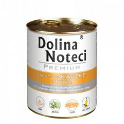 Hrana umeda pentru caini Dolina Noteci rata si dovleac 800 g
