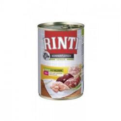 Hrana umeda pentru caini Rinti Senior cu pui 400 g