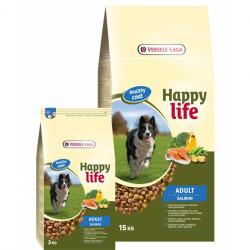 Hrana uscata pentru caini HAPPY LIFE ADULT SOMON 15 KG