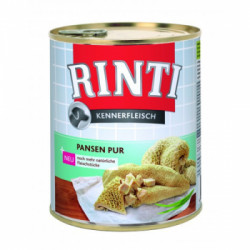Hrana umeda pentru caini Rinti cu burta 800 g