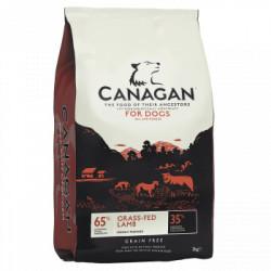 Hrana uscata pentru caini Canagan Grain Free cu miel 12 kg