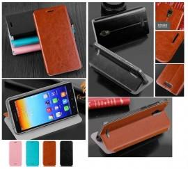 Poze Husa Flip toc tip carte pentru Lenovo S660, piele ecologica