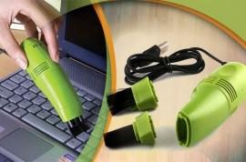 Poze Mini Aspirator de birou si calculator cu alimentare USB