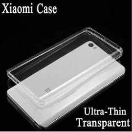 Poze Bumper/husa silicon Xiaomi Mi 4c, transparent