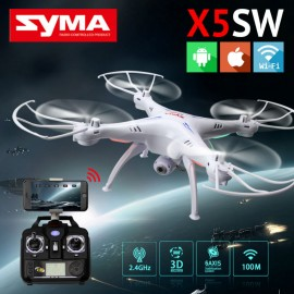 Poze Drona SYMA X5SW cu camera HD FPV, Gyroscope, Control iOS sau Android