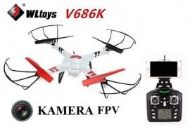 Drona WLtoys V686K Quadcopter cu WIFI FPV Camera si RC 2.4GHz