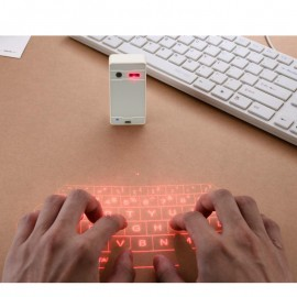 Poze Tastatura Virtuala Proiectie Laser, Qwerty Keyboard, Wireless, Bluetooth