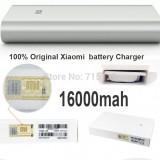 Xiaomi Mi Power Bank, Baterie, Acumulator extern 16000 mAh, Universal, 2x USB